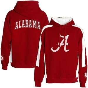 Alabama Crimson Tide Crimson Spiral Hoody Sweatshirt