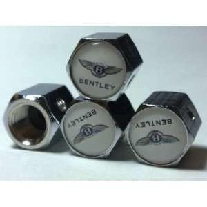 Bentley Anti theft Car Wheel Tire Valve Stem Caps Automotive