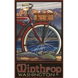 Northwest Art Mall Winthrop Washington Fat Tire Bike