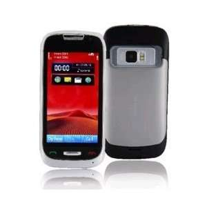 Touch Screen Quad band Cell Phone(Black) Cell Phones & Accessories
