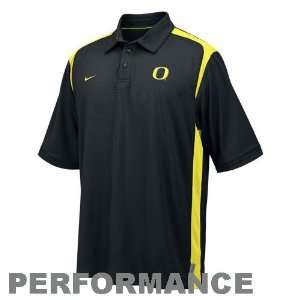Nike Oregon Ducks Black Goal to Go Performance Polo: Sports & Outdoors