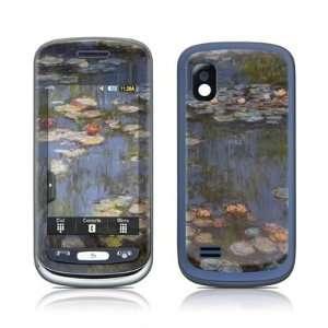 Monet   Water lilies Design Skin Decal Sticker for Samsung Advance SGH