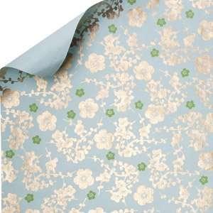 Midori Handmade Gift Wrap Paper   Cherry Blossoms Health