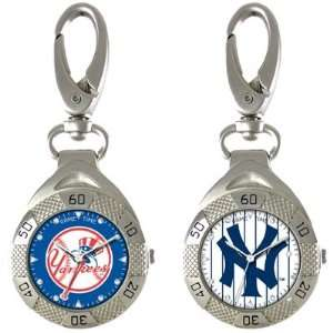Yankees Clip On Watch (Style=Traditional Yankees Logo): Sports