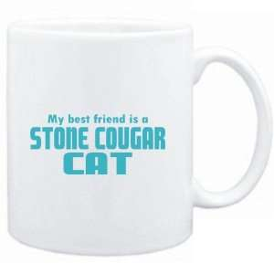 Mug White  MY BEST FRIEND IS a Stone Cougar  Cats