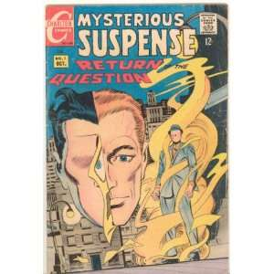 Mysterious Suspense Comic Book Return Question   Vol 1