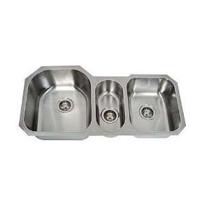 Undermount Triple Bowl Stainless Steel Kitchen/Bar Sink