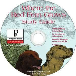 Where the Red Fern Grows Study Guide CD ROM (9781586095765