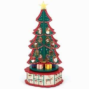 Mr Christmas Advent Rotating Tree 16 Tall