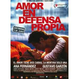 Amor en defensa propia Poster Movie Spanish 27x40: Home