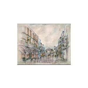 Una Plaza En La Habana I Poster Print: Home & Kitchen