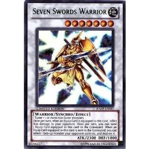 Shonen Jump Promo Ultra Rare Single Card Seven Sword Warrior JUMPEN047