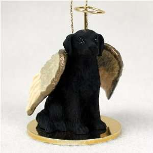 Flat Coated Retriever Angel Dog Ornament  Home & Kitchen