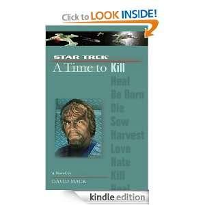 Star Trek The Next Generation Time #7 A Time to Kill David Mack