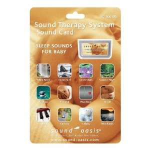 Sound Oasis S 650 Sound Card Sleep Sounds for Baby