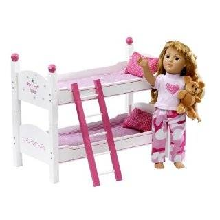 Doll Wish Crown Bunk Bed Furniture   Beds Fit 18 American Girl Dolls