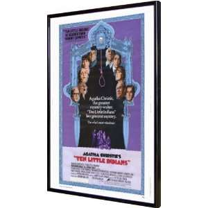 Ten Little Indians 11x17 Framed Poster Home & Kitchen