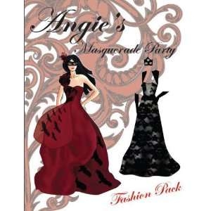 Angies Masquerade Ball Fashion Pack: Attic Dreams Publishing: Books