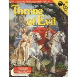Throne of Evil (Role Aids / Advanced Dungeons & Dragons