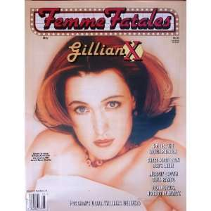 Femme Fatales Magazine Vol. #6 #12 May 1998 , Gillian Anderson