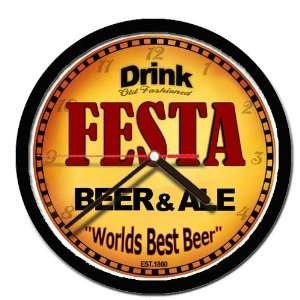 FESTA beer and ale cerveza wall clock: Everything Else