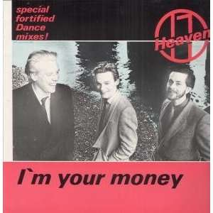 IM YOUR MONEY 12 SINGLE UK VIRGIN 1981: Music