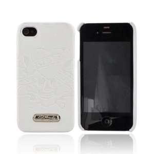 OEM ED Hardy iPhone 4 Leather Hard Case WHITE LOVE KILL Electronics