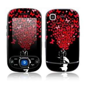 com Samsung Strive Decal Skin Sticker   The Love Gun Everything Else