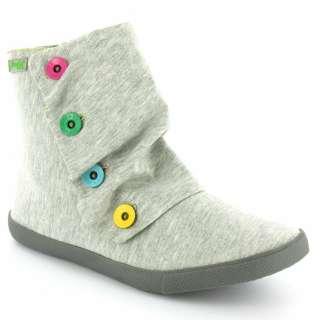 BlowFish BlowFish Hobbit Womens Jersey Zipped Ankle Boots   Grey