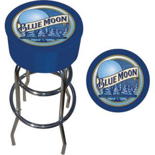 Bar Stool — Blue Moon Logo  www.kotulas  Free Shipping