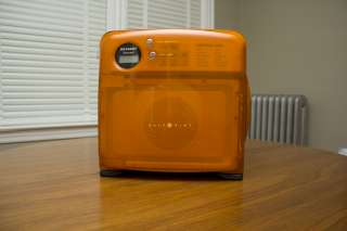 Sharp Half Pint Carousel Microwave, Orange   Spotless and fully