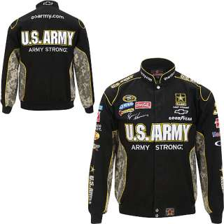 JH Design Ryan Newman US Army Twill Uniform Jacket   NASCAR