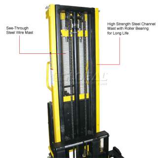 Purchase Battery Powered Lift Truck, Hydraulic Power Forklift Stacker