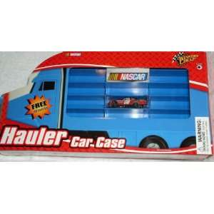Nascar Winners Circle Hauler Car Storage Case Includes Free 164 Scale