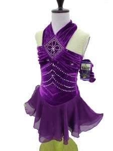 Ice Skating Dance Twirling Costume Dress Adult S (Tall)