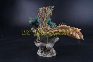 Monster Hunter Japanese Anime Action Painted Figure RAY WOLF / HOT
