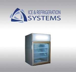 METALFRIO 4 CUBIC FOOT GLASS DOOR COUNTERTOP ICE CREAM FREEZER