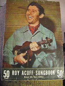 SONGBOOK GRAND OLE OPRY EDITION 50 SONGS SMOKEY MOUNTAIN BOYS 1940S