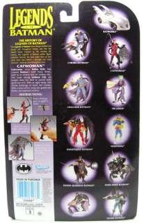 Legends Of Batman CATWOMAN Figure w/ Capture Net MOC