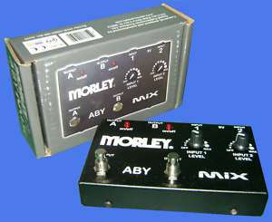 Morley ABY MIX Guitar Mixer And Switcher NEW