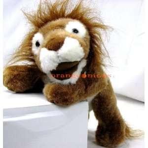 Plush 12 Full Body Stuffed Tiger Puppet w/ Roar Office