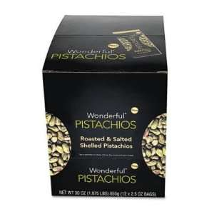 Paramount Farms Wonderful Shelled Pistachios, Roasted