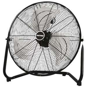 Patton 20 High Velocity Commercial Industrial Shop Fan 3 Speed Tilt