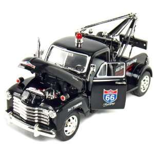 Jada Toys 1953 Chevy Tow Truck Highway 66 (Black) Toys