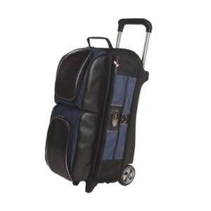 3 Ball Roller Navy / Black Bowling Bag