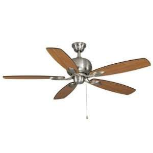 Hampton Bay 52 Trenton Ceiling Fan in Brushed Nickel