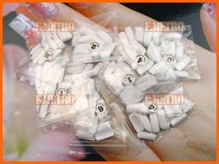 500pcs White False Artificial Acrylic Full Cover Nail Tips