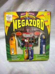VINTAGE BANDAI POWER RANGERS MEGAZORD MIB RARE!!!!!S