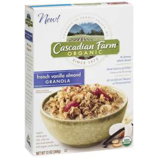 Farm Organic French Vanilla Almond Granola, 13 oz Breakfast & Cereal