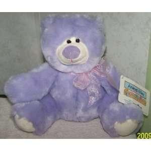 Animal Alley *Whimsical Teddy Bear* Purple Plush Toys